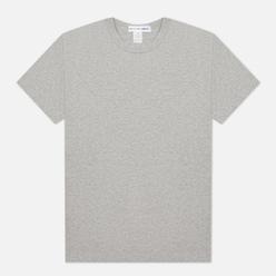 Мужская футболка Comme des Garcons SHIRT Back Logo Grey