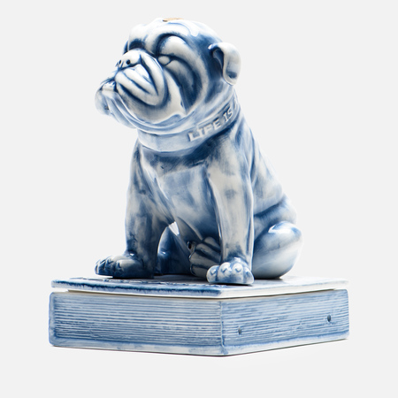 Фигурка Yeenjoy Studio English Bulldog White/Blue