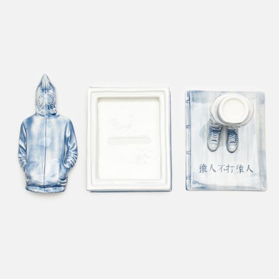 Фигурка Yeenjoy Studio Shark Doll White/Blue