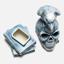 Фигурка Yeenjoy Studio Skeleton Crow White/Blue фото- 4