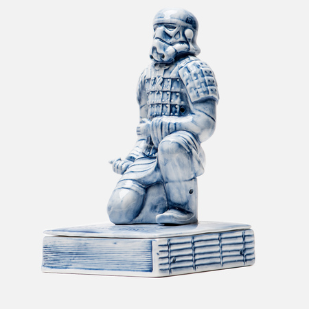 Фигурка Yeenjoy Studio Terracotta Warror Stormtrooper White/Blue