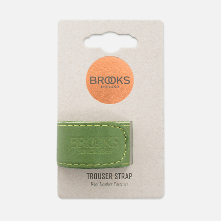 Фиксирующий ремешок Brooks England Trousers Strap Apple Green