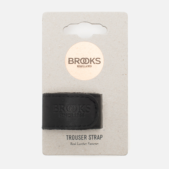 Brooks England Trousers Strap Black