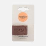Фиксирующий ремешок Brooks England Trousers Strap Brown фото- 0