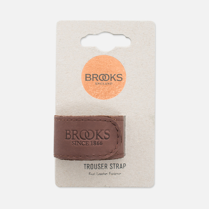 Фиксирующий ремешок Brooks England Trousers Strap Brown