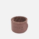 Фиксирующий ремешок Brooks England Trousers Strap Brown фото- 2