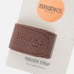 Фиксирующий ремешок Brooks England Trousers Strap Brown фото- 1