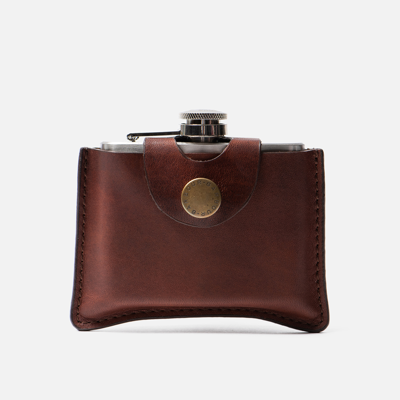 Фляга Barbour Hip Flask 120ml Brown