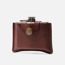 Фляга Barbour Hip Flask 120ml Brown фото- 1