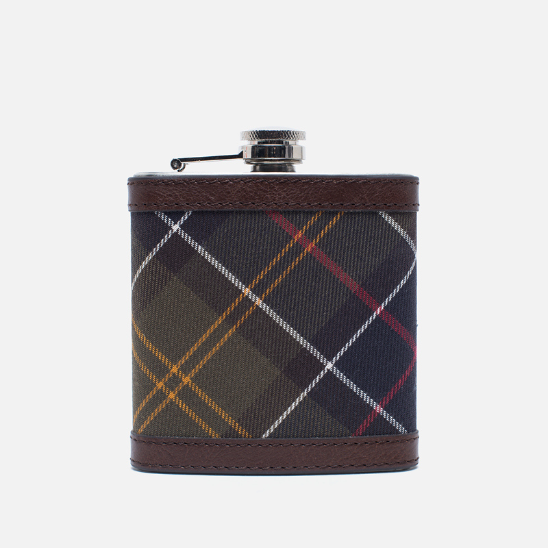 Фляга Barbour Hip Flask Tartan