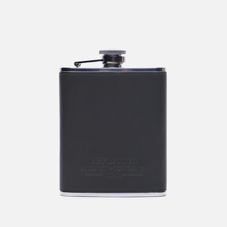 Фляга Filson Leather Wrapped Black