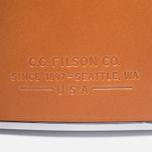 Фляга Filson Leather Wrapped Dark Tan фото- 3