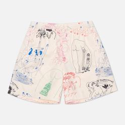 Мужские шорты adidas Originals x Unity Graphic Ecru Tint/Multicolor