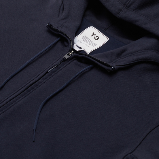 Мужская толстовка Y-3 Classic Back Logo Full Zip-Hoodie Legend Ink