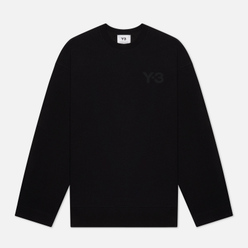 Мужская толстовка Y-3 Classic Chest Logo Crew Neck Black