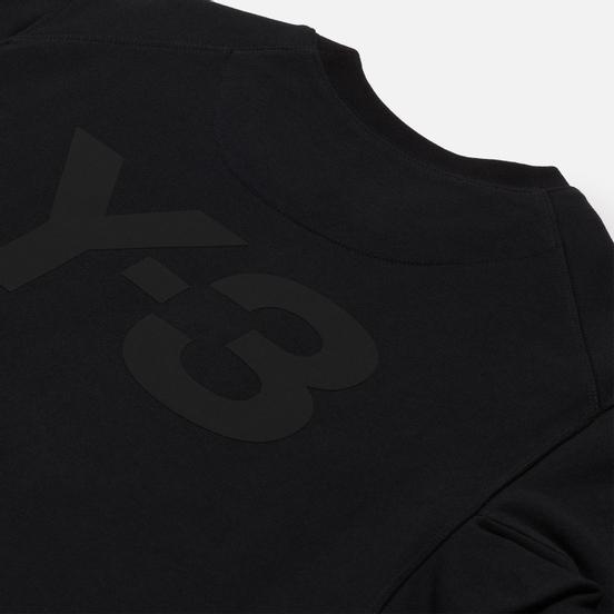 Мужская толстовка Y-3 Classic Back Logo Crew Neck Black