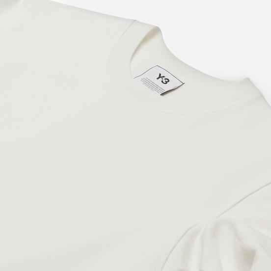 Мужская толстовка Y-3 Classic Back Logo Crew Neck Core White