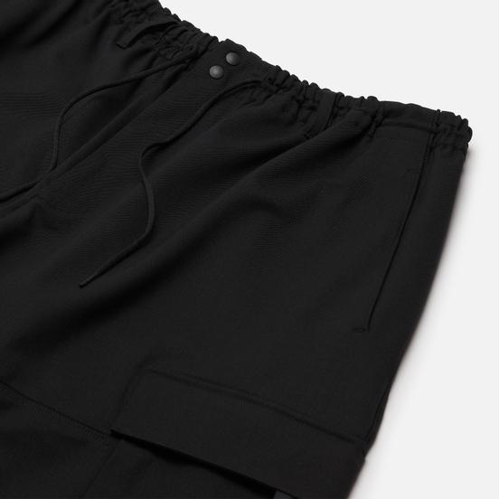 Мужские шорты Y-3 Classic Refined Wool Stretch Cargo Black