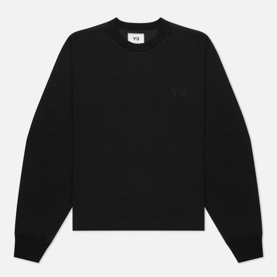 Женская толстовка Y-3 Classic Logo Crew Black