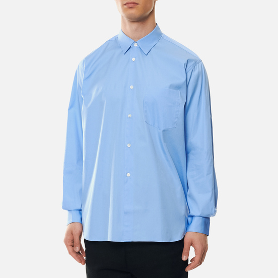 Мужская рубашка Comme des Garcons SHIRT Forever Wide Сlassic Sky