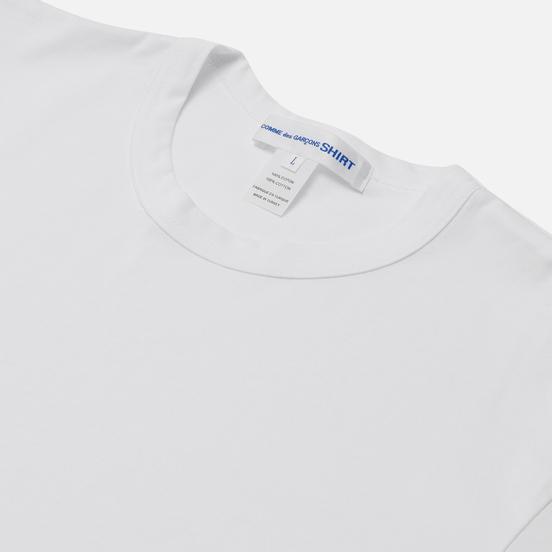 Мужская футболка Comme des Garcons SHIRT Forever Сlassic White
