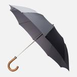 London Undercover Maple Handle Folding Umbrella Dark Grey photo- 0
