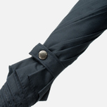 London Undercover Maple Handle Folding Umbrella Dark Navy photo- 3