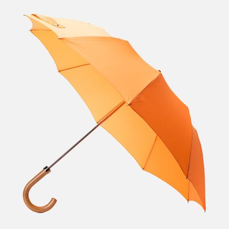London Undercover Maple Handle Folding Umbrella Orange