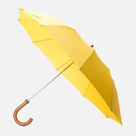 London Undercover Maple Handle Folding Umbrella Yellow