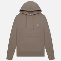 Мужская толстовка Maison Kitsune Hoodie Fox Head Patch Dark Grey