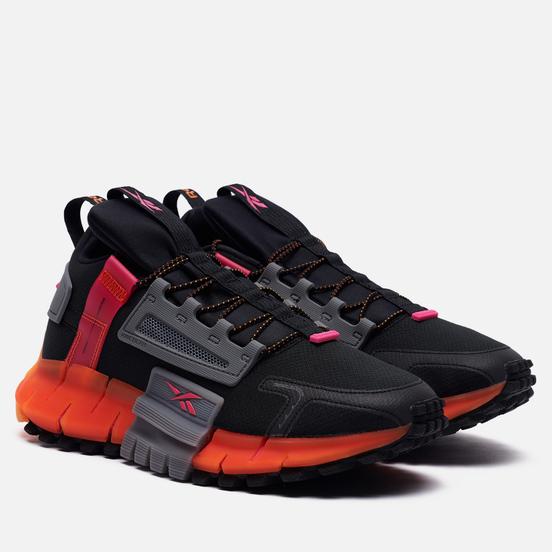 Кроссовки Reebok Zig Kinetica Edge Black/Proud Pink/High Vis Orange