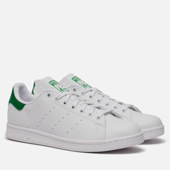 Кроссовки adidas Originals Stan Smith Vegan Cloud White/Green/Cloud White