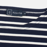 Мужская футболка Armor-Lux Mariniere Doelan Navy Blue/Nature фото- 2