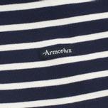 Мужская футболка Armor-Lux Mariniere Doelan Navy Blue/Nature фото- 3