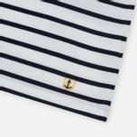 Мужская футболка Armor-Lux Mariniere Manches Courtes White/Navy фото- 2