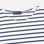 Armor-Lux Mariniere Theviec Men's T-shirt Blanc/Navire photo- 1