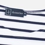 Armor-Lux Mariniere Theviec Men's T-shirt Blanc/Navire photo- 2