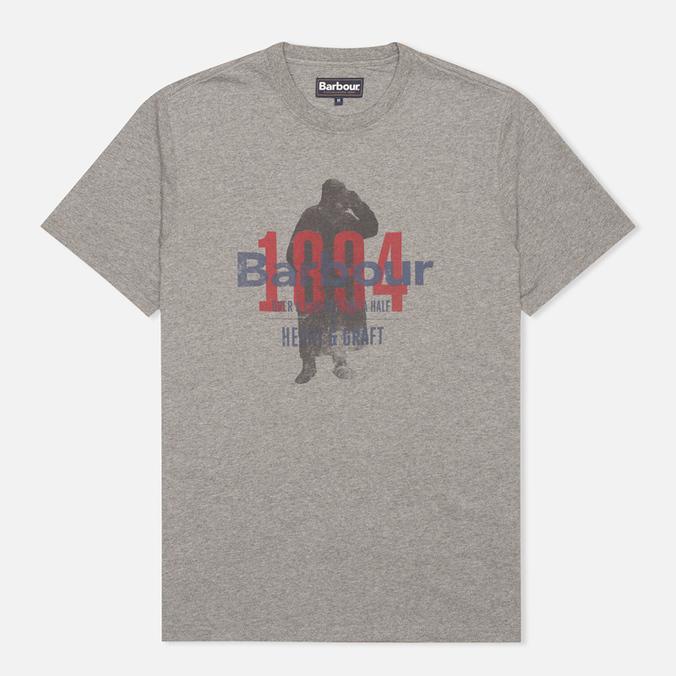 Мужская футболка Barbour Graft Grey Marl