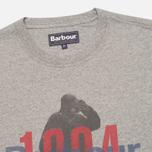 Мужская футболка Barbour Graft Grey Marl фото- 1
