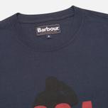 Мужская футболка Barbour Graft Navy фото- 1