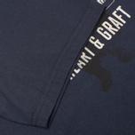 Мужская футболка Barbour Graft Navy фото- 3
