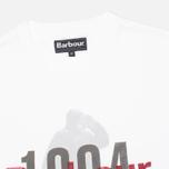 Мужская футболка Barbour Graft White фото- 1