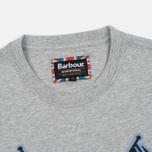 Мужская футболка Barbour International Flags Grey Marl фото- 1