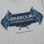 Мужская футболка Barbour International Flags Grey Marl фото- 3