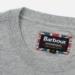 Мужская футболка Barbour International Flags Grey Marl фото- 2