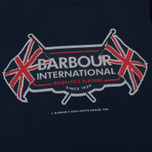 Мужская футболка Barbour International Flags Navy фото- 2