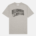 Мужская футболка Billionaire Boys Club Arch Logo Heather Grey фото- 0
