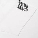 Billionaire Boys Club Looking Helmet Men's T-shirt White photo- 3