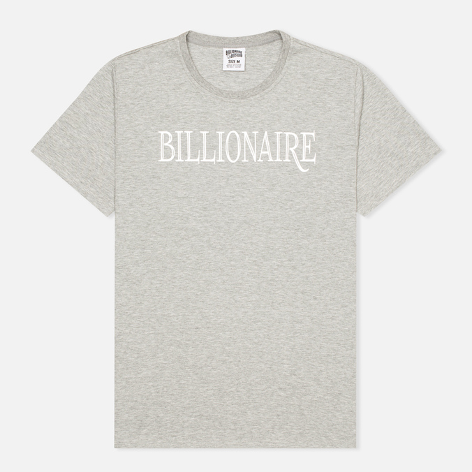 Мужская футболка Billionaire Boys Club Lux Bill Heather Grey