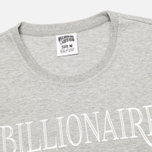 Мужская футболка Billionaire Boys Club Lux Bill Heather Grey фото- 1